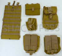 Eagle Industries SFLCS Pouch LOT MJK KHAKI GP HYDRATION SAW CHARGE SIGNAL #17