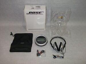 Rare Bose Triport CD Music System - CD Player & Headphones - New