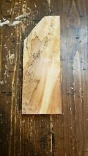 Figured/Spalted/ Maple Scale Art Craft Knife Call m1373