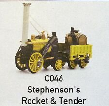 C046 DAPOL STEPHENSONS ROCKET,  PLASTIC KIT 00, STATIC MODEL
