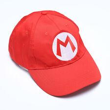 Unisex Adult Kids Super Mario Bros Printed Anime Cosplay Baseball Hat Cap
