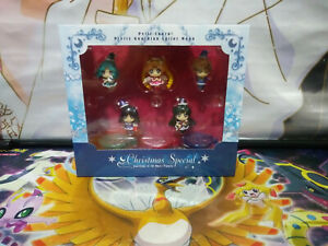 Sailor Moon Christmas Ver. PVC Figure Model 5pcs/set