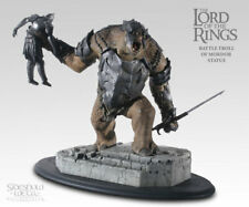 Sideshow Weta Lord of the Rings Battle Troll Of Mordor Statue New! Mint In Box!