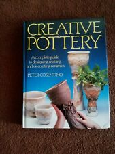 POTTERY MAKING BOOK - TECHNIQUES, DESIGNING, MAKING, DECORATING, CLAY, FIRING,