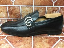 b44112ac48d SOLD OUT Gucci Donnie Bit Loafer Men s Black Leather Shoes Size 7 UK 8 US