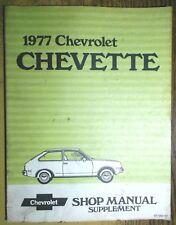 1977 chevrolet chevette service shop repair manual supplement oem gm  st-357-77
