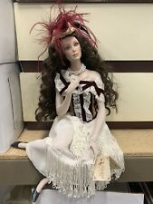 Handcrafted bisque porcelain doll by Brigitte Marigio Dolls Italy limited 38/100