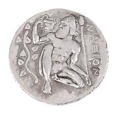 G (09) Rare Pièce de monnaie grecque antique Pièces de tétradrachme Collection
