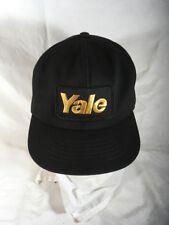 Yale Forklifts Hat Snap Patch Black Made Usa Cap Forklift