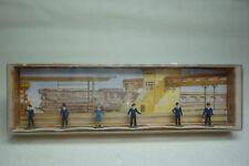 Vintage Mahale Figurines Box - N Gauge - Train Staff - Box 908 (1.fig-40)