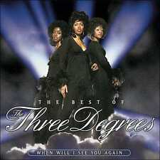 THREE DEGREES : WHEN WILL I SEE YOU AGAIN: BEST OF (CD) sealed