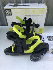 Cardiff Roller Skate Youth Cruiser Green & Black Adjustable Unisex New