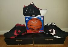 7041631cbf3 DWAYNE WADE CONVERSE ICON PRO WADE PLAYOFF SIZE 13 SHOE LOT PSA AUTO  BASKETBALL
