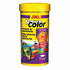 JBL NOVOCOLOR 250ml Comida en escamas peces Alimento Color Percas platys salmler