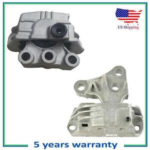 Set 2PCS Engine Motor & Trans. Mount For Flat 500X Jeep Compass Renegade 2.4L L4