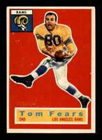 1956 Topps #42 Tom Fears  EXMT X1507266