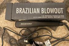 "Brazilian Blowout 1.25"" Prodigital Titanium Flat Iron/Hair Straightener"