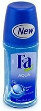 FA 24 Hour Roll-On Deodorant, Aqua 1.7 oz (Pack of 4)