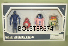 "COLOR CHANGE DROID DEPOT 4-PACK Star Wars Galaxy Edge 3.75"" RA-7 R2-D2 CHOPPER B"