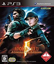 NEW!! PS3 BIOHAZARD 5 Alternative Edition Resident Evil Capcom from Japan F/S