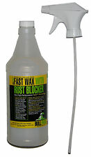 Bullfrog Fast Wax Spray w/ Rust Blocker 98198, Shines & Protects Car Truck, More