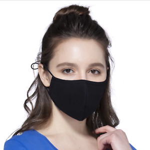 ADJUSTABLE & Washable Face Mask Anti Pollution Mouth Masks Comfortable Reusable