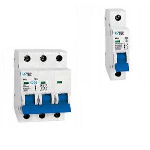 Sicherung Sicherungsautomat Leitungsschutzschalter LS für Hutschiene 230 400 V