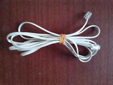 6.5Ft Telephone RJ11 Cord