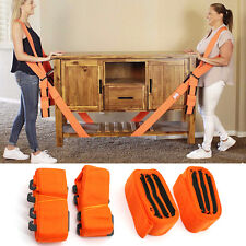 UK Lifting Hand Shoulder Straps Moving Lift Aid Tools Heavy Furniture Appliances
