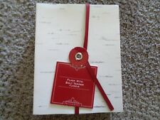 Pottery Barn Flask with Bolt top Stainless Steel flask (new in box)