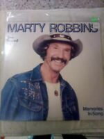 "Marty Robbins : Memories In Song- Two Records - 33 LP, 12"" Record - CBS -*Used*"