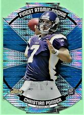 2011 Topps Finest Atomic Rookie Football CHRISTIAN PONDER RC #FAR-CP NM