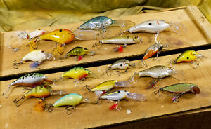18 Bagley, Storm, Mann's, Norman Fishing Lures - Many Vintage, Hard to Find