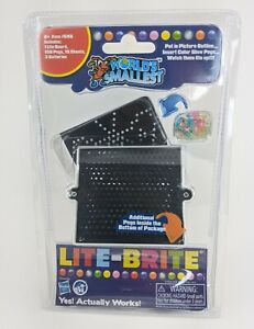 New World's Smallest Lite-Brite Create Beautiful Pictures with Light Bright