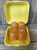 Vintage McDonalds Happy Meal Toy 1988 Chicken McNugget 4 Piece Box