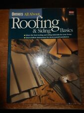 2001 orthos all about roofing and siding basics reference book used