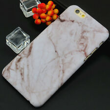 Granite Marble Effect Hard Cover Phone Case Cover Skin For iPhone 5s 6 6s 7 Plus