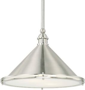 Capital Lighting Langley 312221BN Brushed Nickel Two Light Pendant - CLOSEOUT