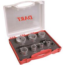 DART 10 pezzi HSS legno/plastica/bi-metallo 19mm-57mm Sega a tazza Set + SCATOLA