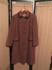 HARRIS TWEED Women's  Vintage 60/70s Wool Coat Nice