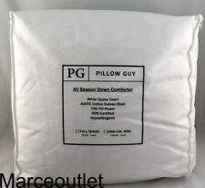 Pillow Guy All Season White Goose Down King Comforter Hypoallergenic