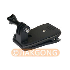 360 Degree Rotary Backpack Hat Rec-Mounts Clip Fast Clamp Mount for GoPro Hero 3