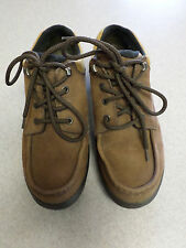 LL Bean brown leather, Goretex, hiking shoes. Women's  9.5 Wide