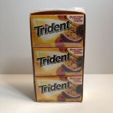 (2 Boxes) Trident PassionBerry Twist Sugar Free Gum With Xylitol