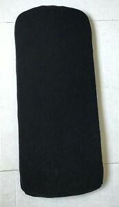 Bugaboo Cameleon Bassinet Foam Sponge Mattress & Fabric Cover Black Replacement