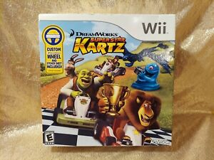 DreamWorks Super Star Kartz Nintendo Wii Shrek NEW & Sealed w/ Box & Wheel