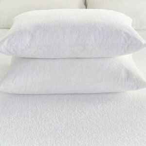 Terry Mattress Protector Waterproof Extra Deep Fitted Bed Sheet Cover Non Noisy