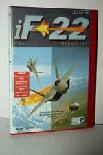 IF-22 THE F22 RAPTOR SIMULATOR USATO PC CD ROM VERSIONE SPAGNOLA GD1 49140