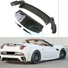 Auto Rear Spoiler Lip Rear Chin Fit For Ferrari CALIFORNIA Carbon Fiber  vus
