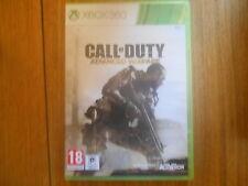 Call Of Duty Advanced Warfare Jeu XBOX 360 PAL Sans notice